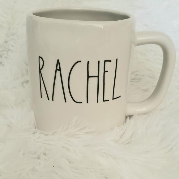 Rae Dunn Rachel coffee cup